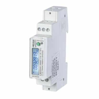 UEM40-2C Kilowatt Hour (kWh) Meter Angle View