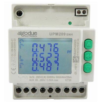 UPM209 Digital Power Meter Front View