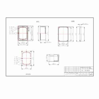 DS-PCG-2819 - Enclosure Dimensions